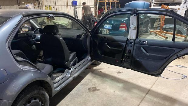 Modifikasi unik Volkswagen Jetta