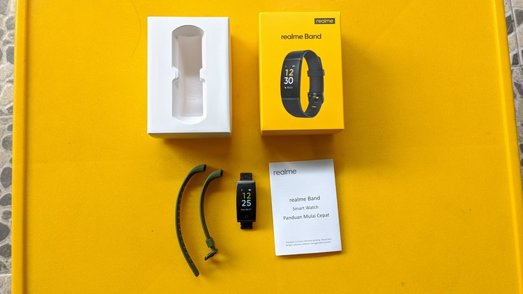 Unboxing Realme Band