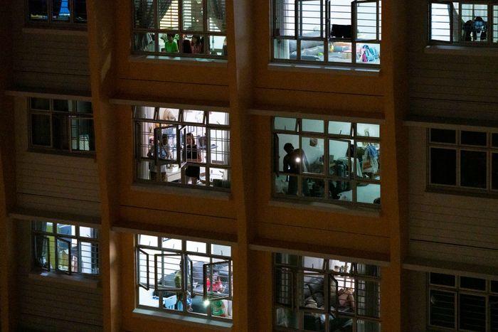 Perangi virus Corona, Singapura ubah Changi Exhibition Centre, yang biasa digunakan untuk pameran kelas dunia jadi tempat isolasi darurat.