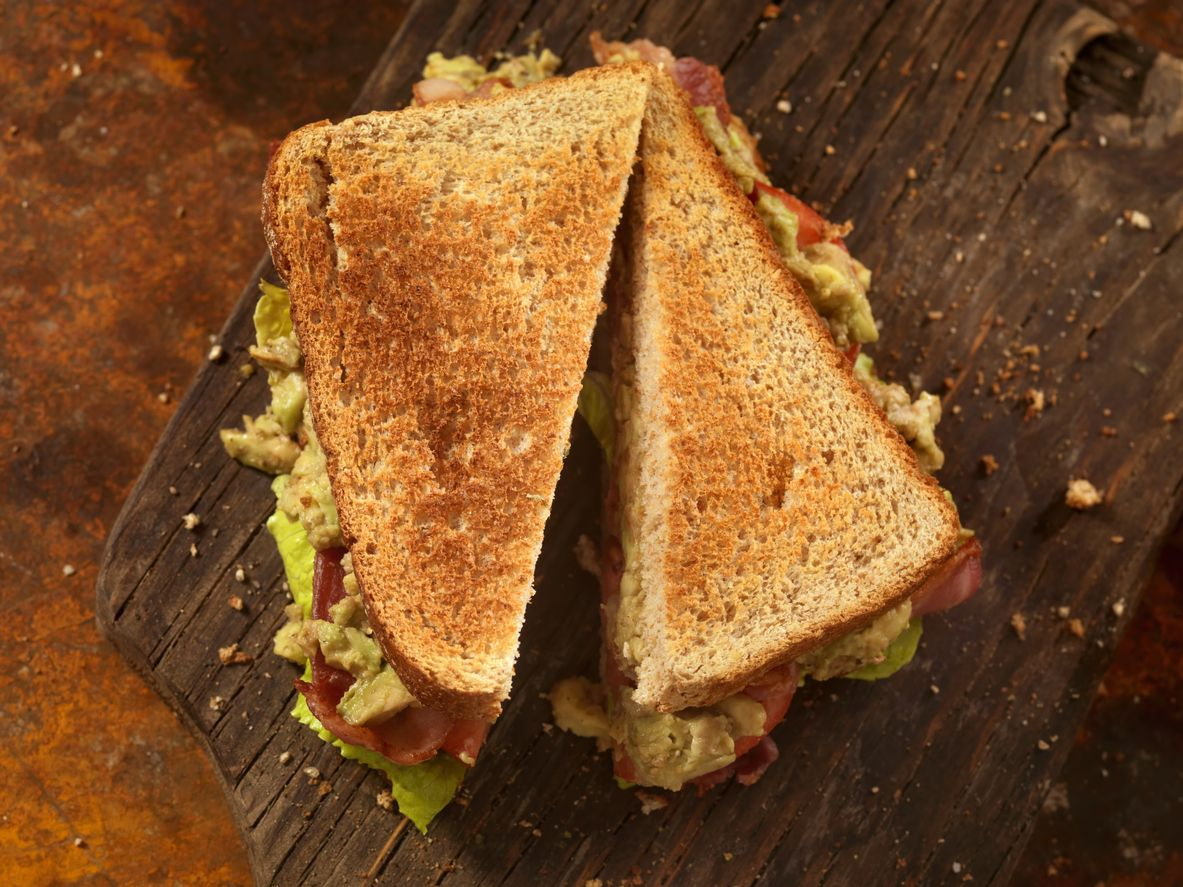 Avocado, BLT Sandwich -Photographed on Hasselblad H3D2-39mb Camera