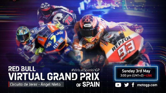 Jadwal MotoGP Virtual Race Akhir Pekan Ini dan Para Ridernya. (Foto: dok. MotoGP)