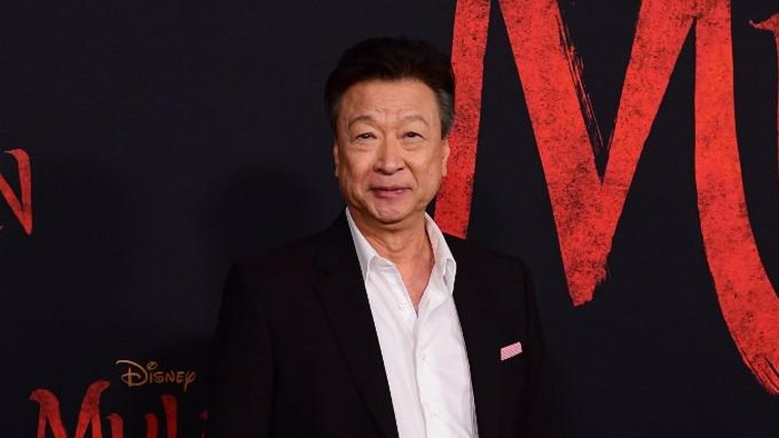 US actor Tzi Ma attends the world premiere of Disneys