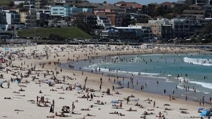 Australia dan Selandia Baru Longgarkan Lockdown, Pantai dan Restoran Kembali Ramai