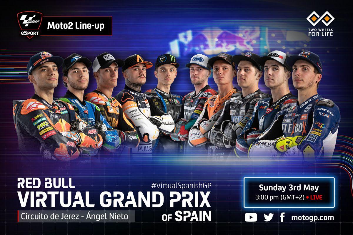 MotoGP Virtual Race di Jerez