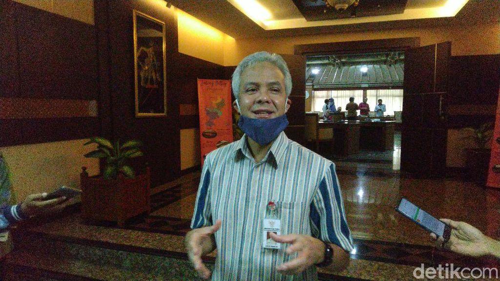 Ganjar Pranowo Kasih Tempat Gratis untuk Seniman ODP Manggung