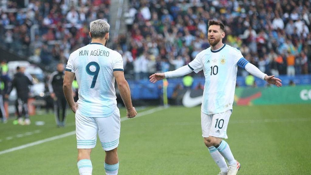 Etoo: Duet Messi-Aguero Akan Bikin 60 Gol