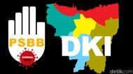 2 Hari Berturut Kasus Corona Pecah Rekor di Ibu Kota