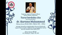 Mantan Ketua IDI Kartono Muhammad Meninggal Dunia
