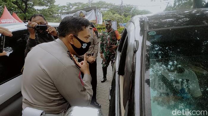 polisi jaring 3 mobil pemudik