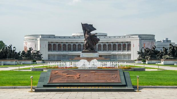 Victorious Fatherland Liberation War Museum di Pyongyang