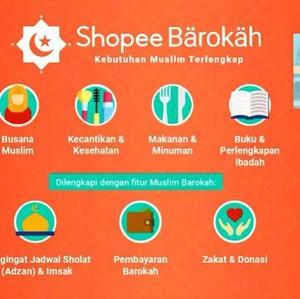 Di Shopee Barokah, Belanja Takjil hingga Gamis Bebas Riba
