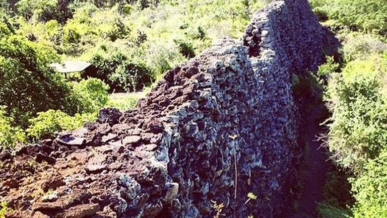 Tembok air mata di Galapagos
