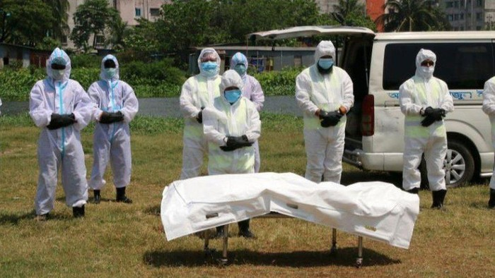 Virus corona: Mungkinkah kita tertular virus corona dari jenazah pasien Covid-19?