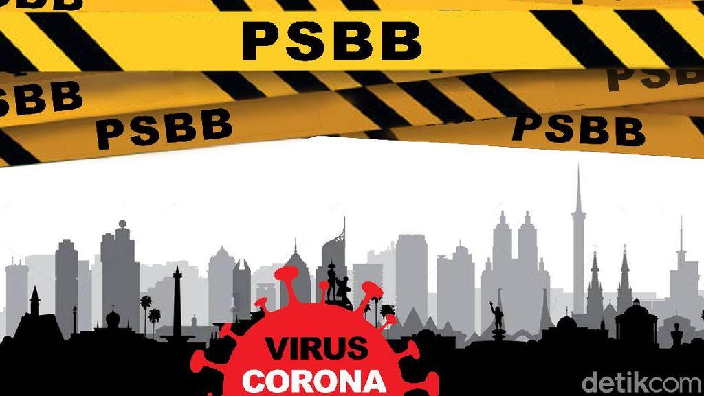PSBB Bodebek Diperpanjang hingga 16 Agustus 2020