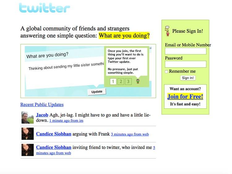 Seperti apa tampilan awal Youtube, Twitter, Snapchat, sampai Tinder? Lihat di sini.