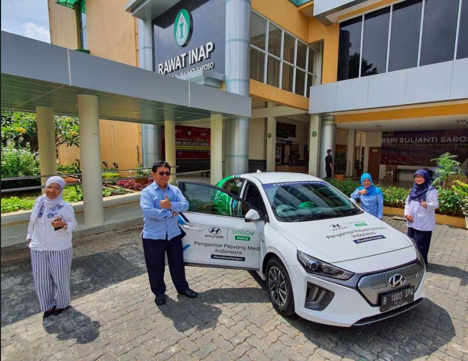 Hyundai Ioniq untuk para petugas kesehatan di masa pandemi virus Corona.