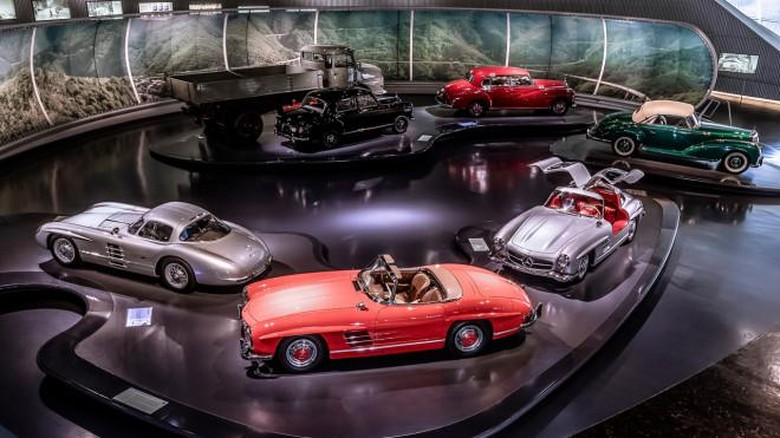 Exhibition Mercedes-Benz Museum