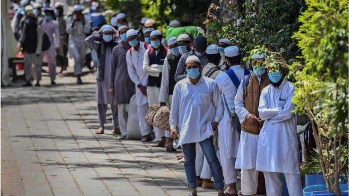 Virus corona: WNI anggota Jamaah Tabligh di India minta dievakuasi, kadang saya di sini makan pakai garam saja