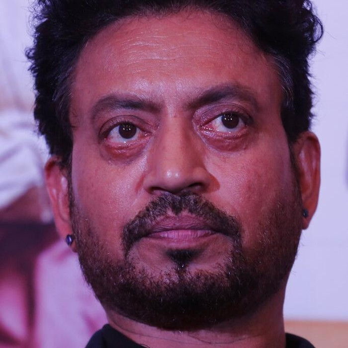 FILE- In this May 17, 2017 file photo, Bollywood actor Irrfan Khan looks on during a press conference to promote his movie Hindi Medium in Ahmadabad, India. Khan, a veteran character actor in Bollywood movies and one of Indias most well-known exports to Hollywood, has died. He was 54. (AP Photo/Ajit Solanki, File)