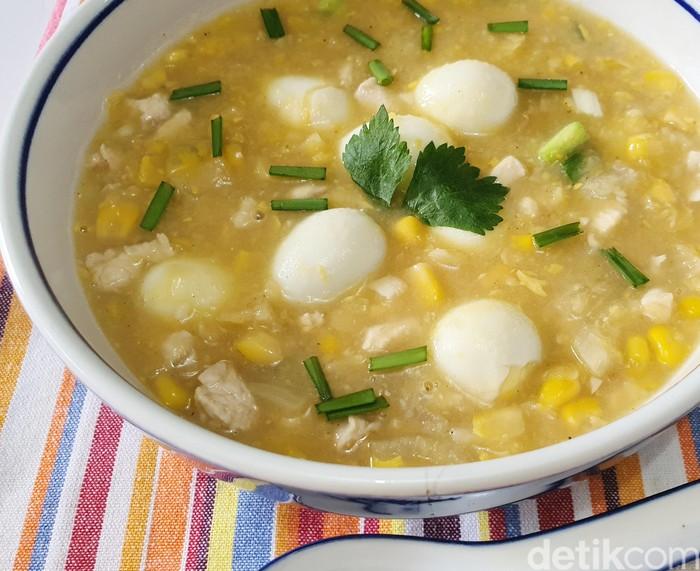 Sup Ayam Krim Jagung