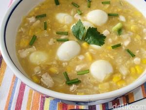 Resep Sup Ayam Krim Jagung yang Gurih Untuk Sahur