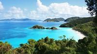 Destinasi paling populer buat dijadikan background Zoom ternyata adalah Karibia. Banyak yang mencari gambar Karibia di Google, lalu dijadikan background Zoom saat meeting. (Shutterstock)