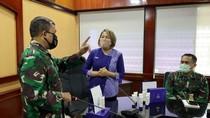 Bantuan Hand Sanitizer untuk TNI Terus Mengalir