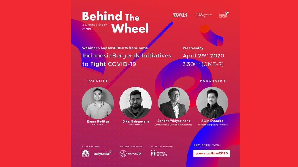 Indonesia Bergerak, Behind The Wheel