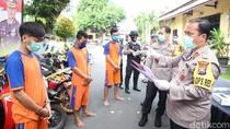 Gerebek Penadah Barang Curian di Jombang, 22 Motor Bodong Ditemukan