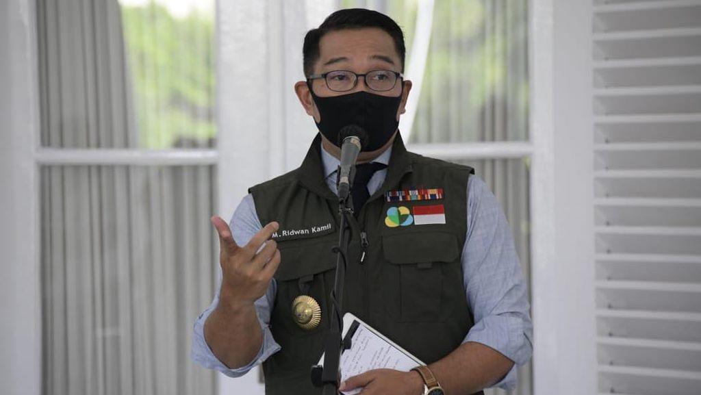 Ridwan Kamil Ajak Bela Negara Hadapi Corona dengan Diam di Rumah