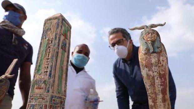 Peti Mumi ditemukan di Mesir