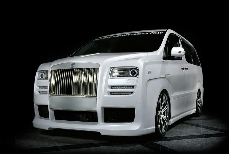 Modifikasi Toyota Alphard Mirip Rolls-Royce
