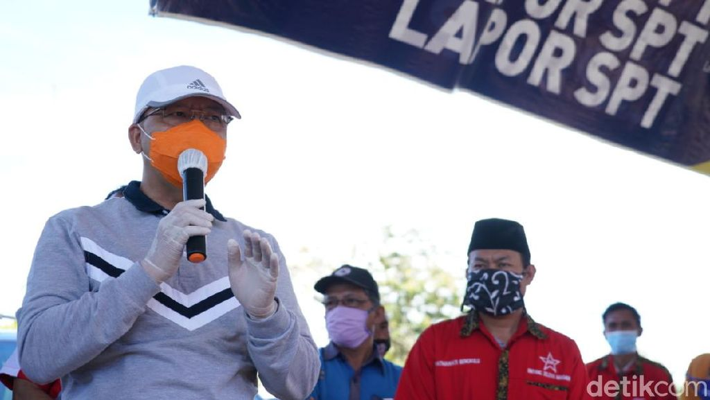 Gubernur Bengkulu Rohidin Mersyah Sembuh dari Corona