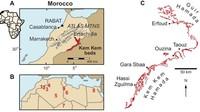 Fakta itu pun dapat dilihat di wilayah perbatasan antara Maroko dan Algeria yang disebut sebagai Kem Kem Group. Pasalnya, lokasi itu menyimpan begitu banyak formasi batuan yang menyimpan sejarah Bumi sekitar 10 juta tahun silam seperti diberitakan IFL Science (Zookeys)
