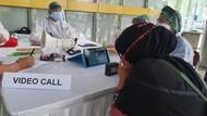 Pojok Sahabat RSCM, Area Melepas Rindu Keluarga dengan Pasien Corona
