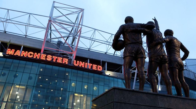 MANCHESTER, ENGLAND - FEBRUARY 28: A general view outside Old Trafford prior to the FA Youth Cup: Sixth Round match between Manchester United and Wigan Athletic at Old Trafford on February 28, 2020 in Manchester, England. (Photo by Charlotte Tattersall/Getty Images)