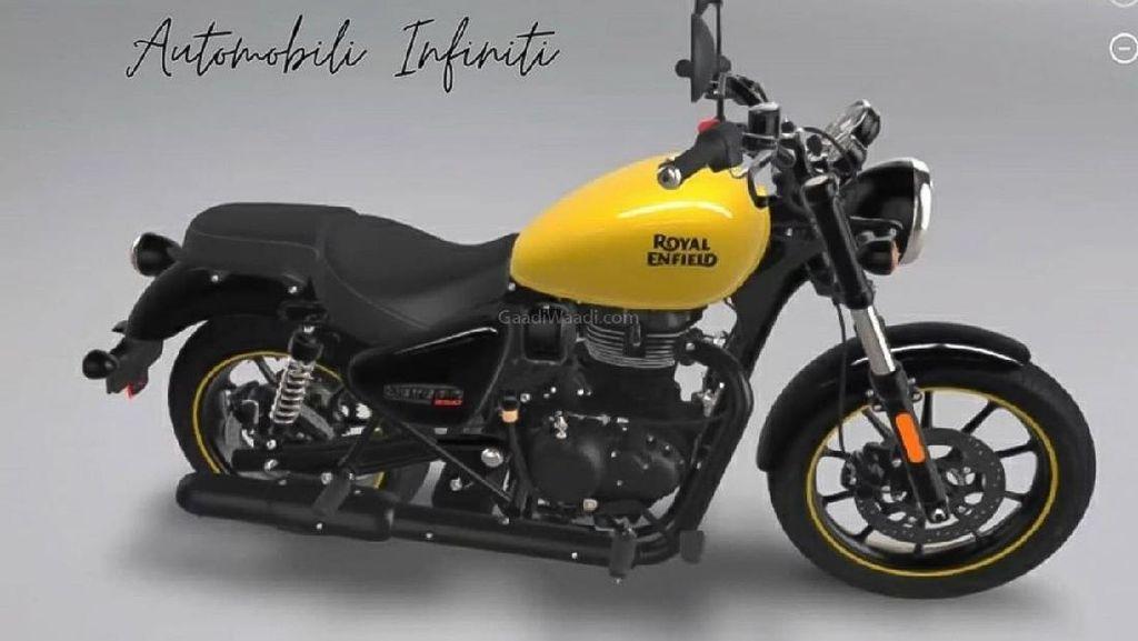 Calon Motor Royal Enfield 350 cc Terbaru Disapa Meteor 350 Fireball