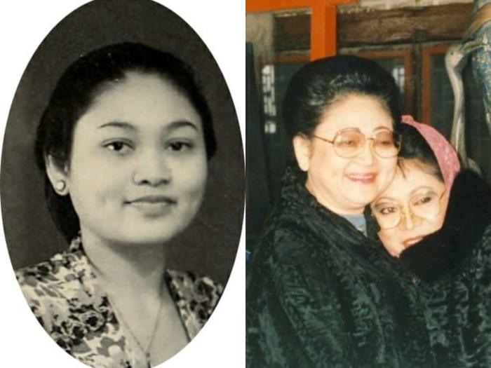 Tutut Soeharto bersama ibundanya, Tien Soeharto (dok. Twitter Tutut Soeharto)