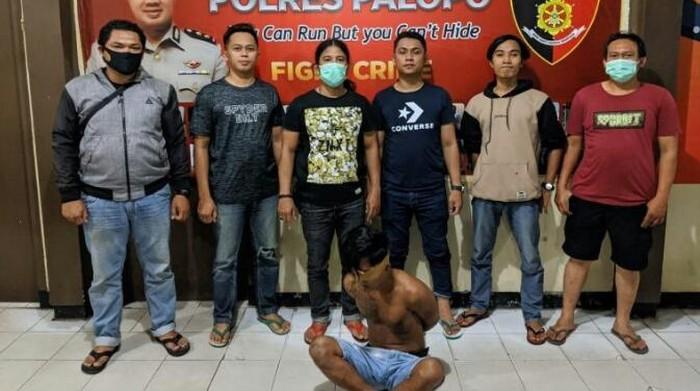 Polres Palopo menangkap buronan kasus penganiayaan, Ramli.
