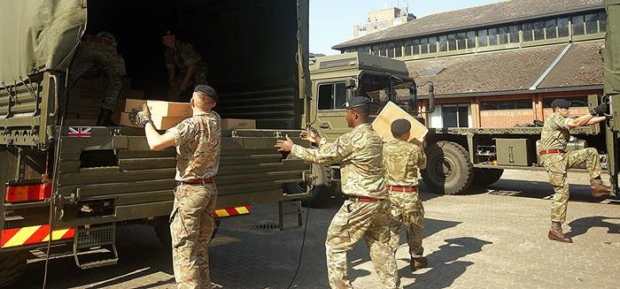 Tentara Inggris (Sumber: situs armu.mod.uk)