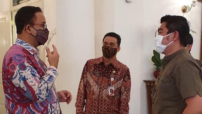 Ustaz Solmed temui Gubernur DKI Anies Baswedan