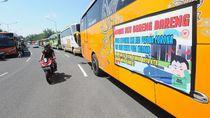 Lihat Yuk, Aksi Memanasi Mesin Bus Bareng di Klaten