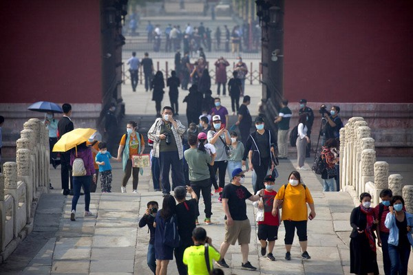 Maksimal Kota Terlarang akan menerima 5.000 pelancong. Padahal, biasanya Forbidden City atau Kota Terlarang dikunjungi 100 ribu hingga 180 ribu orang per hari.