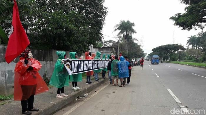 Buruh Sumedang Memperingati May Day