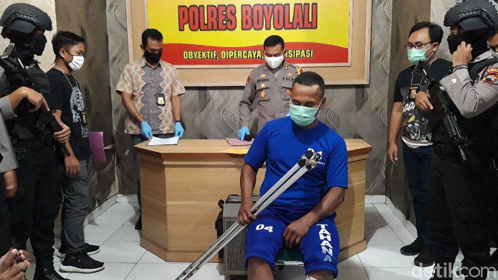 Dor! Jambret Sadis yang Beraksi di Beberapa TKP Jateng Ditembak Polisi
