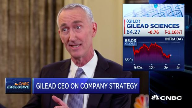 Gejala Penyakit  Obat Tradisional Chief Executive Officer (CEO) Gilead Sciences Daniel O'Day,