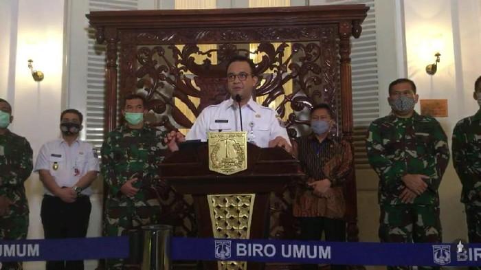 Gubernur DKI Jakarta Anies Baswedan (YouTube Pemprov DKI Jakarta)