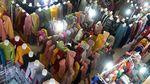 Penjualan Busana Muslim Sepi Pembeli