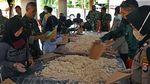 TNI Polri Dirikan Dapur Umum Disejumlah Daerah