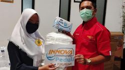 Aksi Pecinta Mobil Innova Ikut Perangi Virus Corona